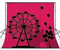 Lyly郡( 10× 10ft Fantastic Ferrisホイールバックドロップ布ブース背景スタジオ小道具写真lyge083