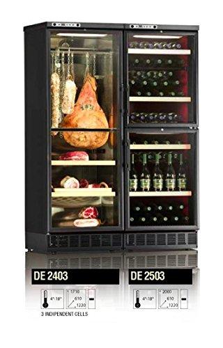 Ip Industrie - Frigo cantina climatizzata 3 celle con una temperatura regolabile libertà di personalizzazione
