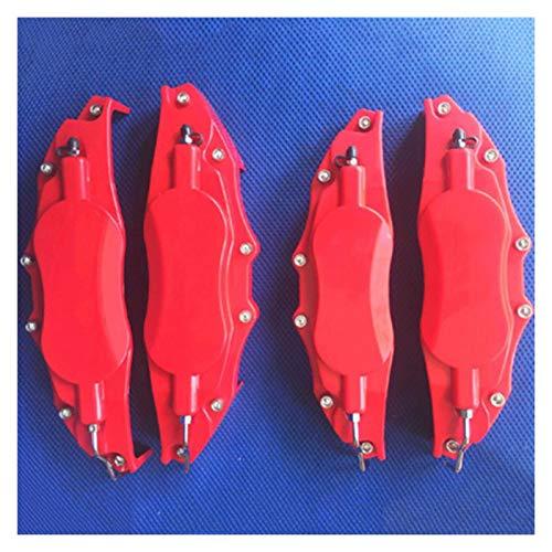 """4 Stück ABS-Kunststoff Bremssattelabdeckung Modell 10 Mit F Sport Auto Styling Dekoration Fit for Lexus 18""""Und Größer Bremssattel Auto Bremse (Color Name : Red)"""