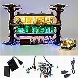 lodiy luci led kit per lego 75810 stranger things sottosopra - luci illuminazione set per lego 75810 (modello lego non incluso)