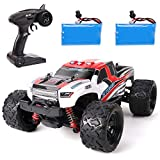 GILOBABY RC Cars High Speed 36Km/h Remote Control Car 1:18 Scale 4WD 2.4Ghz Radio Controlled Off-Road RC Car with 2 Rechargeable Batteries Electronic Truck for Kids Adults
