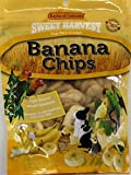 Sweet Harvest Banana Chips Treat, 4.0 Oz Bag - Real Fruit for Birds and Small...