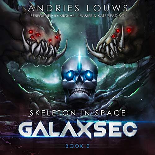 Page de couverture de GalaxSec (A Sci-Fi LitRPG)