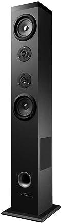 Energy Sistem Tower 5 - Sistema de Sonido Bluetooth (60 W, Touch Panel, USB/SD y FM) Color Negro