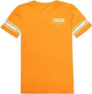 W Republic Tuskegee Golden University Tigers NCAA Women's t Shirt Practice Football Tee