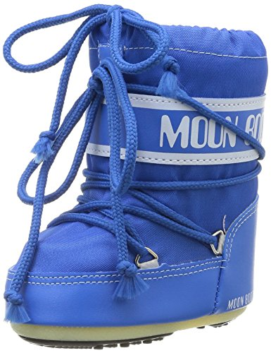 Tecnica MOON BOOT MINI NYLON AZZURRO, Baby Jungen Stiefel, Blau (Light Blue 069), EU 19-22 (UK 3/5,5)