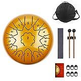 KUDOUT Tongue Drum-drum Instrument 13 tons 12 Pouces-drum...