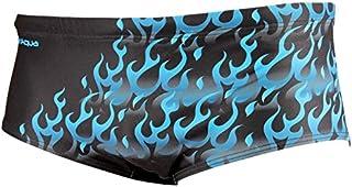 funaqua Men Flames bathing trunks–Blue