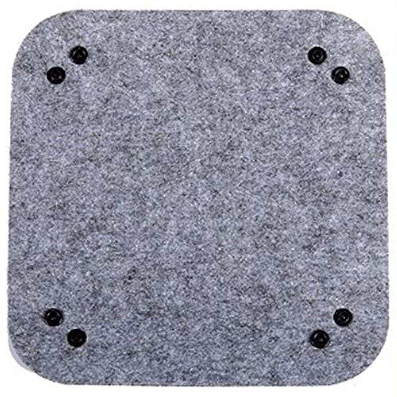 耐えられないホーム退屈なSODIAL 1個フェルトオーガナイザーボックスステーショナリーデスクオーガナイザー用品デスクトップ用装飾オーナメント収納オーガナイザーセットトップホット(グレー)
