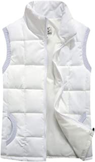fanmeili-AU Women Winter Stand Collar Down Waistcoat Vest Puffer Quilted Outwears Outerwear