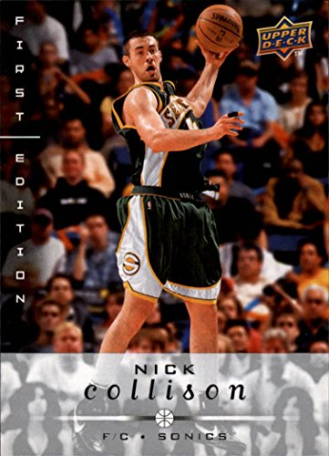 2008-09 Upper Deck First Edition #178 Nick Collison Seattle SuperSonics