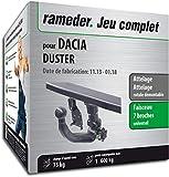 Rameder Attelage rotule démontable pour Dacia Duster + Faisceau 7 Broches (135311-08547-2-FR)