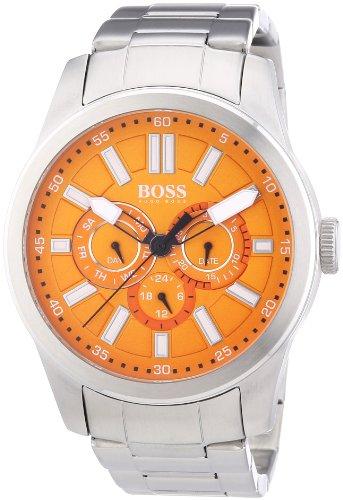 Hugo Boss Reloj Analógico para Hombre de Automático con Correa en Acero Inoxidable 1512932