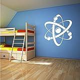 wukongsun Mapa atómico para niños Pegatinas de Pared Apliques de Pared de...