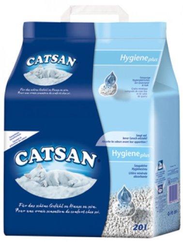 Catsan, lettiera originale, 4 confezioni da 20 litri [etichetta in lingua italiana non garantita]