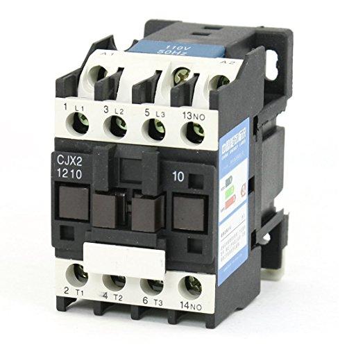 Baomain AC Contactor CJX2-1210 110V 50HZ 3 Poles Normally Open
