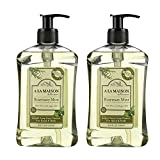 Best Liquid Body Soaps - A La Maison de Provence Rosemary Mint Liquid Review