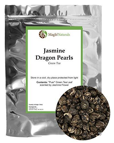 Imperial Jasmine Dragon Pearls | Loose Leaf Green Tea |