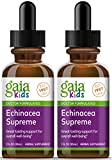 Gaia Herbs, GaiaKids Echinacea Supreme Herbal Drops, Immune Health, Rapid Immune Response Support, Physician Formulated, 1 Fluid Ounce, Pack of 2