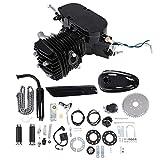 Kit de bicicleta de motor de 80 cc, kit de bicicleta de motor de motor, juego de bricolaje de motor de bicicleta motorizado de gas de 2 tiempos con herramientas