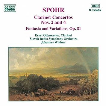 Spohr: Clarinet Concertos Nos. 2 and 4 / Fantasia, Op. 81