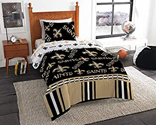 saints twin bed set