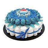 Tarta Golosinas - Blue 22 cm