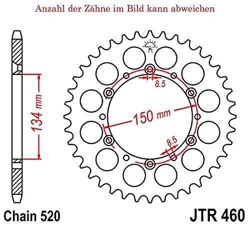 jtSprockets JTR460-53 - Corona para bicicleta KX 250 H 1990-1991 (53 dientes)