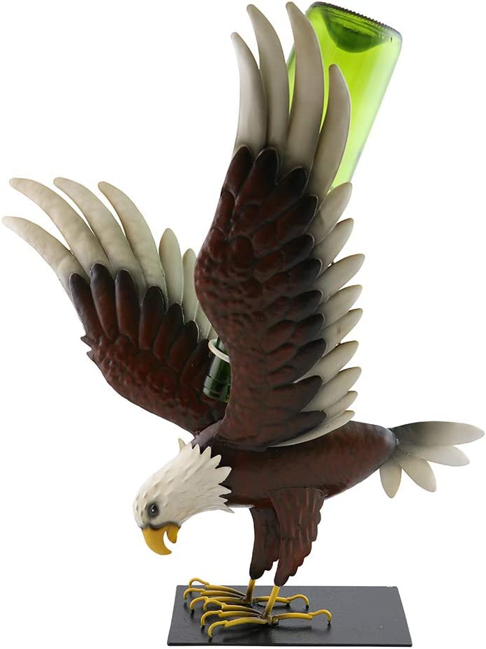 GIFTS PLAZA D Wine お気にいる Bottle 物品 Holder Dec Bar Brown Eagle Counter