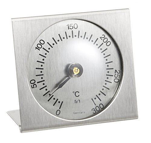 TFA Dostmann Analoges Backofenthermometer, 14.1004.60, aus Metall, hitzebeständig