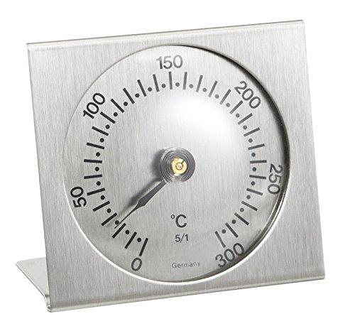 TFA Dostmann Analoges Backofenthermometer, aus Metall, hitzebeständig