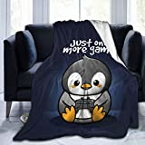 Zordalating Cute Animal Penguin Soft and Warm Throw Blanket Plush Bed Couch Living Room Fleece Blanket 50'X40'60'X50'80'X60'