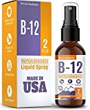 Vitamin B12 Liquid - Methylcobalamin B12 Spray - Vegan & Non-GMO - Instantly Boost Energy Levels and Speed Up Metabolism