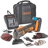 VonHaus 20V Max Multi-Tool – Cordless – Oscillating 3.2° – 1800...