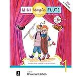 Mini Magic Flute (Band 1 von 4): Flöte lernen für die Jüngsten mit Flauti und Timpo - jetzt neu in 4 Bänden. Band 1. für Flöte mit CD, teilweise mit Klavierbegleitung. Ausgabe mit CD.