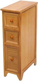KHFJ Armoire de Rangement en Bois Massif tiroir de Rangement Cuisine Gap Armoire de Toilette Armoire de Rangement Raffinez...
