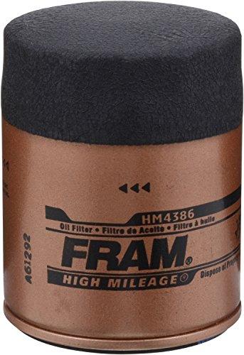 FRAM HM4386 High Mileage Full-Flow Spin-On Oil Filter