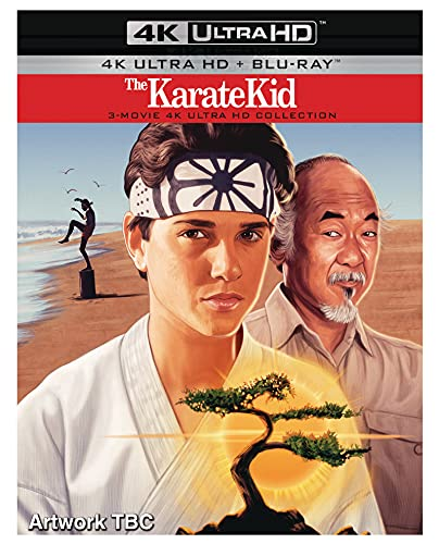The Karate Kid - 1, 2 & 3 - 4K UHD Collection [Blu-ray] [2021]