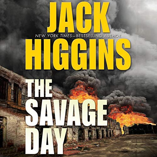 The Savage Day audiobook cover art