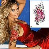 Handaxian 3pcs Tatuaje Animal Pegatina Bikini Impermeable Body Art 3pcs-7