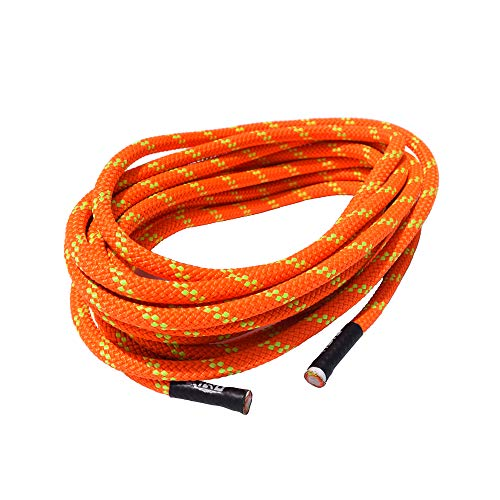 QIQU 7mm Climbing Accessory Cord Rope Cordage Line for Outdoor in 20 ft and 40 ft High Tenacity Polyester Rope (20, 7MM)