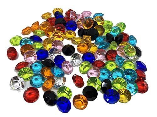 100 pieza 15 mm grandes multicolor...
