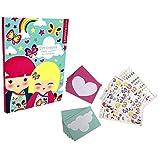 Kimmi Junior - Set Créatif : Papier à lettres et cartes d'invitation