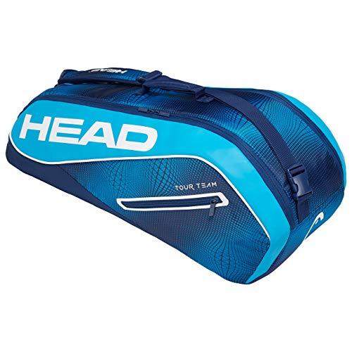 Head Tour Team 6R Combi Bolsa de Tenis, Adultos Unisex, Navy/Azul