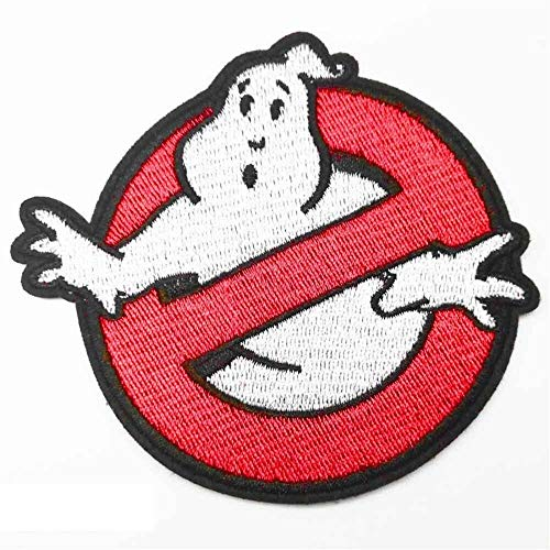 WBNCUAP Big Size Full Ricamato in Ferro su Ghostbusters Ghost Patch Patch di Abbigliamento Ricamato per Abbigliamento Abbigliamento di Halloween