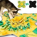 Alfombra Olfato Perro Mat 70 X 105 CM,Pet Nariz Trabajo Olor Snuffle Mat Entrenamiento Alimentación Forraje Habilidad Manta Perro Play Mats Juguetes