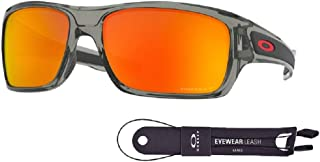 Oakley Turbine OO9263 Sunglasses For Men+BUNDLE with Oakley Accessory Leash Kit