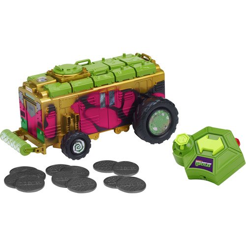 KIds Remote-Controlled Vehicle Ninja Turtles Shellraiser Toys RC steering