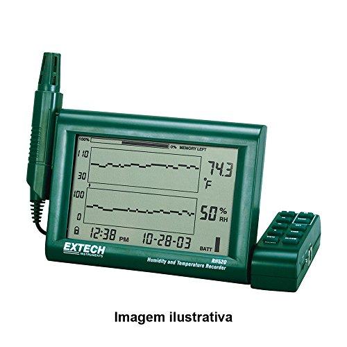 Extech RH520A-220 Luftfeuchtemessgerät (Hygrometer) 10% rF 95% rF Taupunkt-/Schimmelwarnanzeige, Datenloggerfunktion