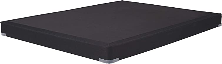 Signature Design by Ashley Low Profile Bed -Mattress Conventional, Queen, Black